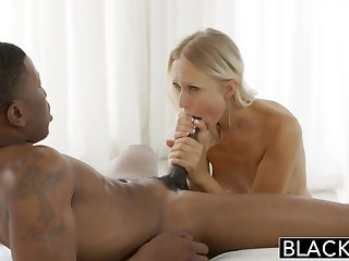 BLACKED Super Model Natasha Voya first BBC