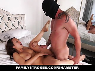 Strokes - Step daughter fucked by NOT her Pervert dad
