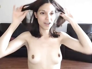 Tantalizing Darkhaired Babe Camshow - FUCK MOVIE
