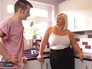 Agedlove mature chubby blowjob and doggystyle