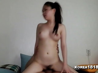 KOREA1818.COM - BUSTY Korean Cowgirl