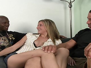 Dude Enjoys Watching His White Wife Fucked - catalina taylor