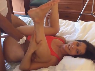 Yoga Wife Fucks Big Black Dick And Cuck Cleans Up - home made