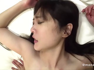 Erotic fuck with young amateur Asian Japanese babe