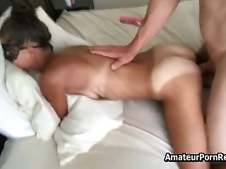 Real Amateur Milf Pretty Masked Bikini Marks Cumshot On Nose Real Sex Video