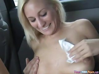 Car Sex On The Backseat - Slutty MILF Porn