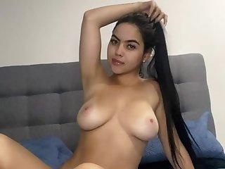 Colombia Michelle solo webcam masturbation