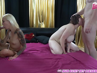 PRIVATE AMATEUR FOURSOME WITH GERMAN COUPLE, HOMEMADE