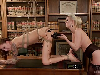 Torn Lesbians  - femdom toys