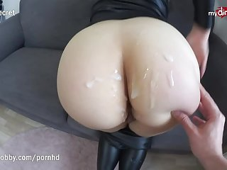 Anal Whore has a Dirty Hobby & Skin Tight Latex Outfit