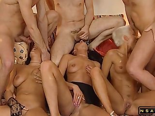 German Swinger Group 90s Retro With Young Mandy Mystery P2 - Mandy mystery