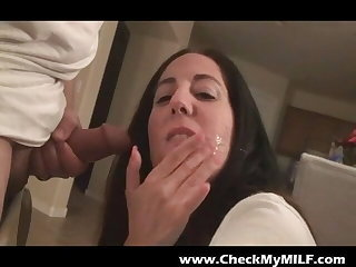 Check My MILF in lingerie getting assfucked