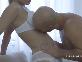 Samantha Jolie is a supah steamy ash-blonde lady who luvs to sense sausage inwards her gullet